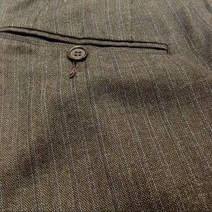 Blue Pinstripe Flare Dress Pants 32L